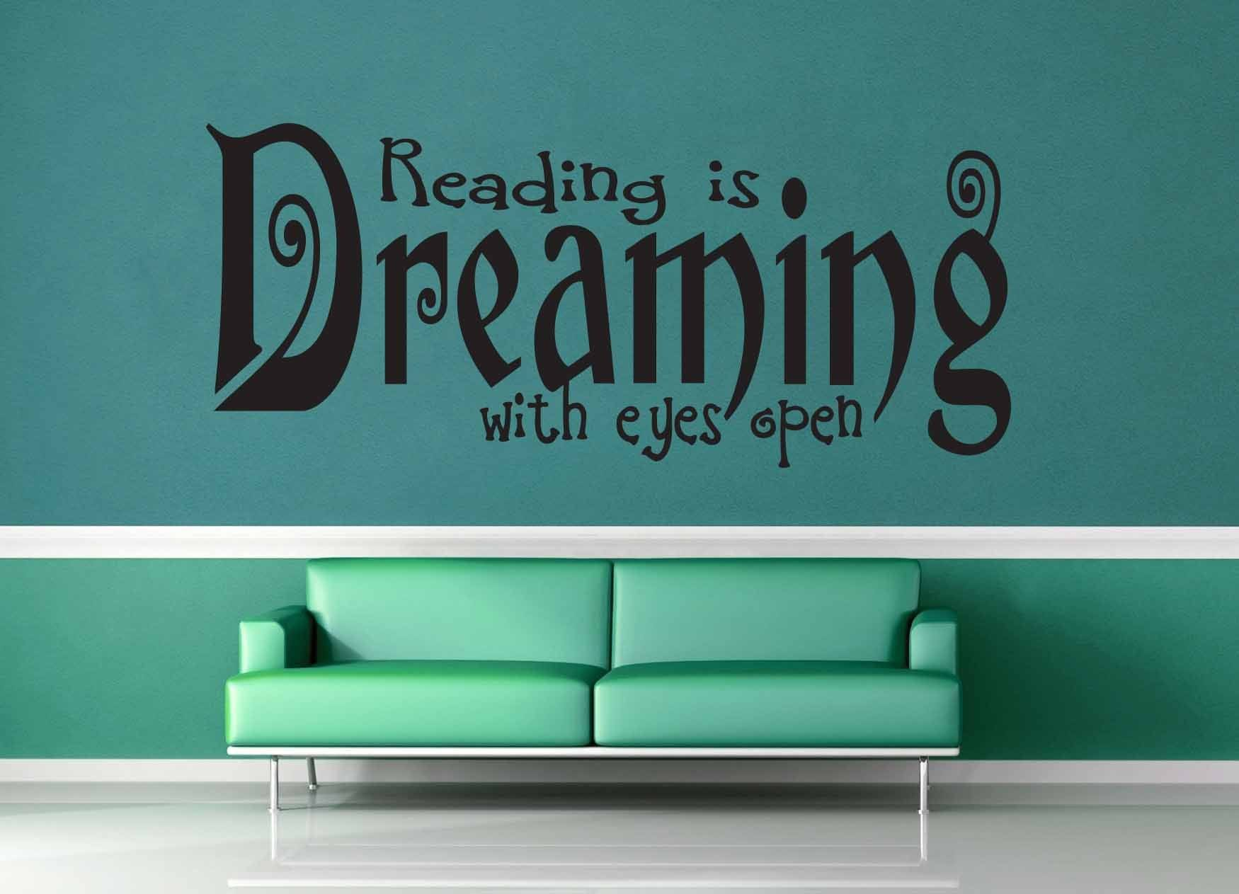 Reading is Dreaming - Wall Decal