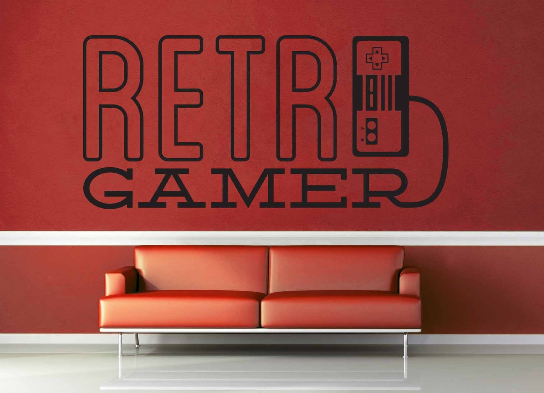 Retro Game - Gamer Décor - Wall Decal