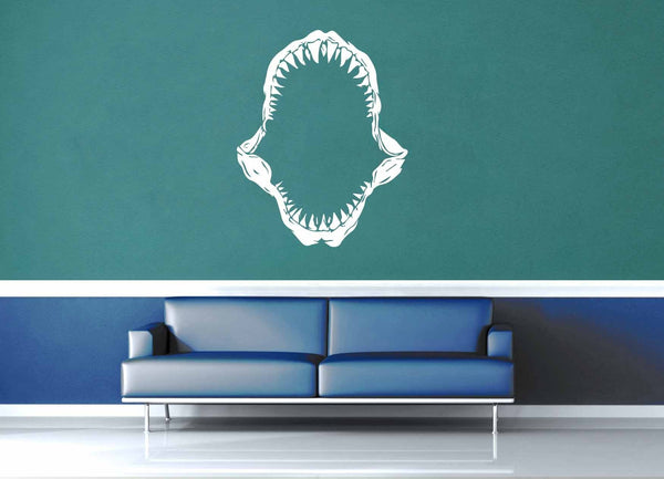Shark Jaws - Wall Decal - geekerymade