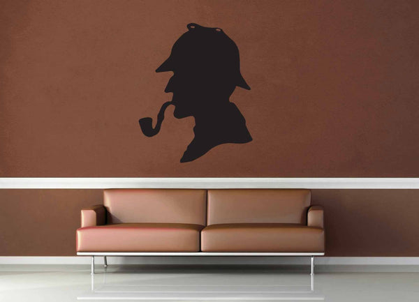 Sherlock Silhouette - Wall Decal