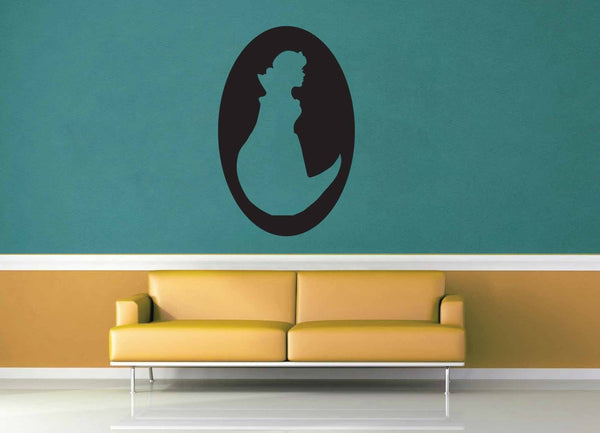 Snow White Cameo - Wall Decal