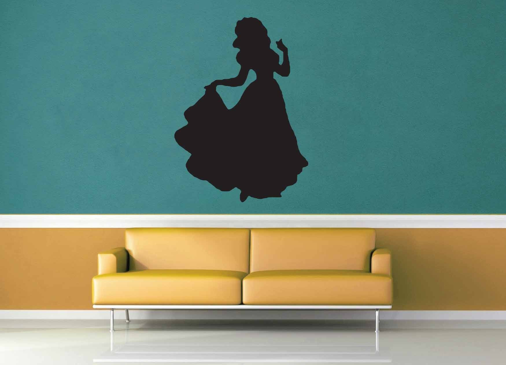 Snow White Silhouette - No 1 - Wall Decal