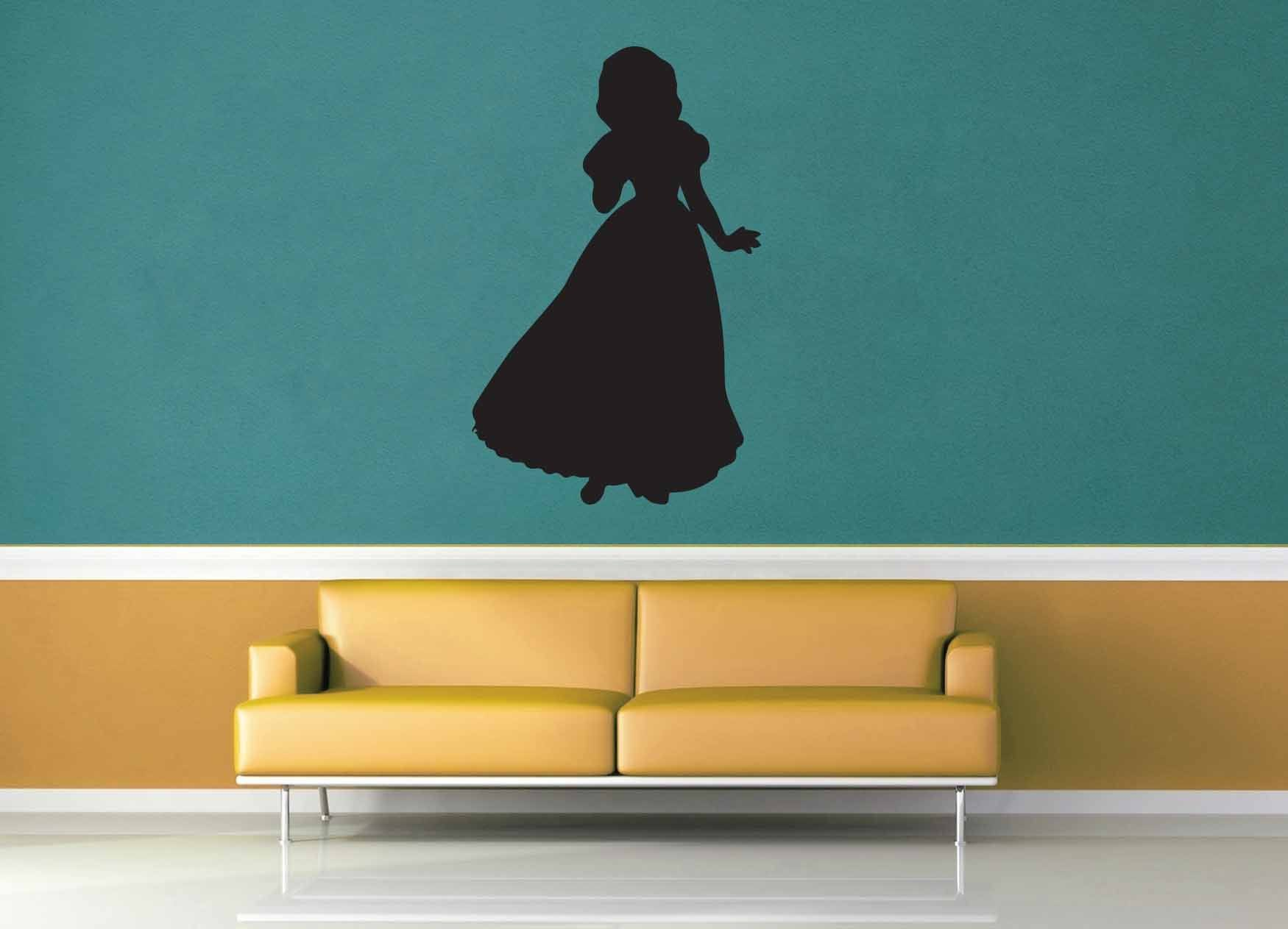 Snow White Silhouette - No 3 - Wall Decal