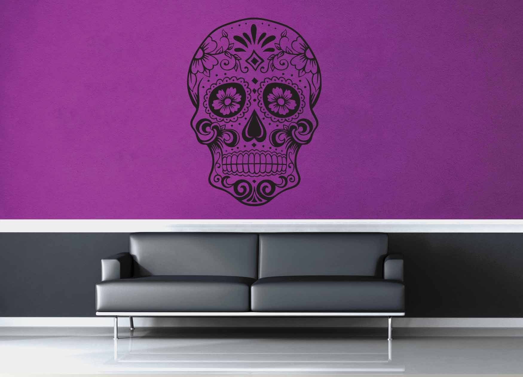 Sugar Skull - Wall Decal - No 1