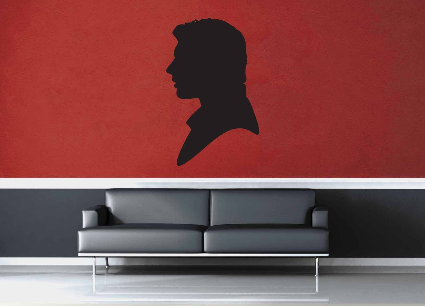 Han Solo Silhouette - Star Wars - Wall Decal - No 1