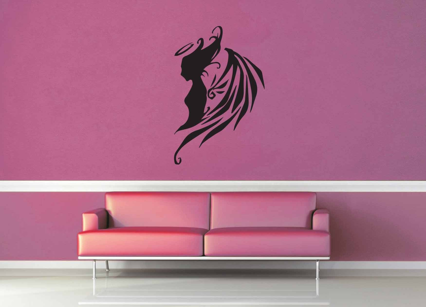 Tattered Angel - Wall Decal