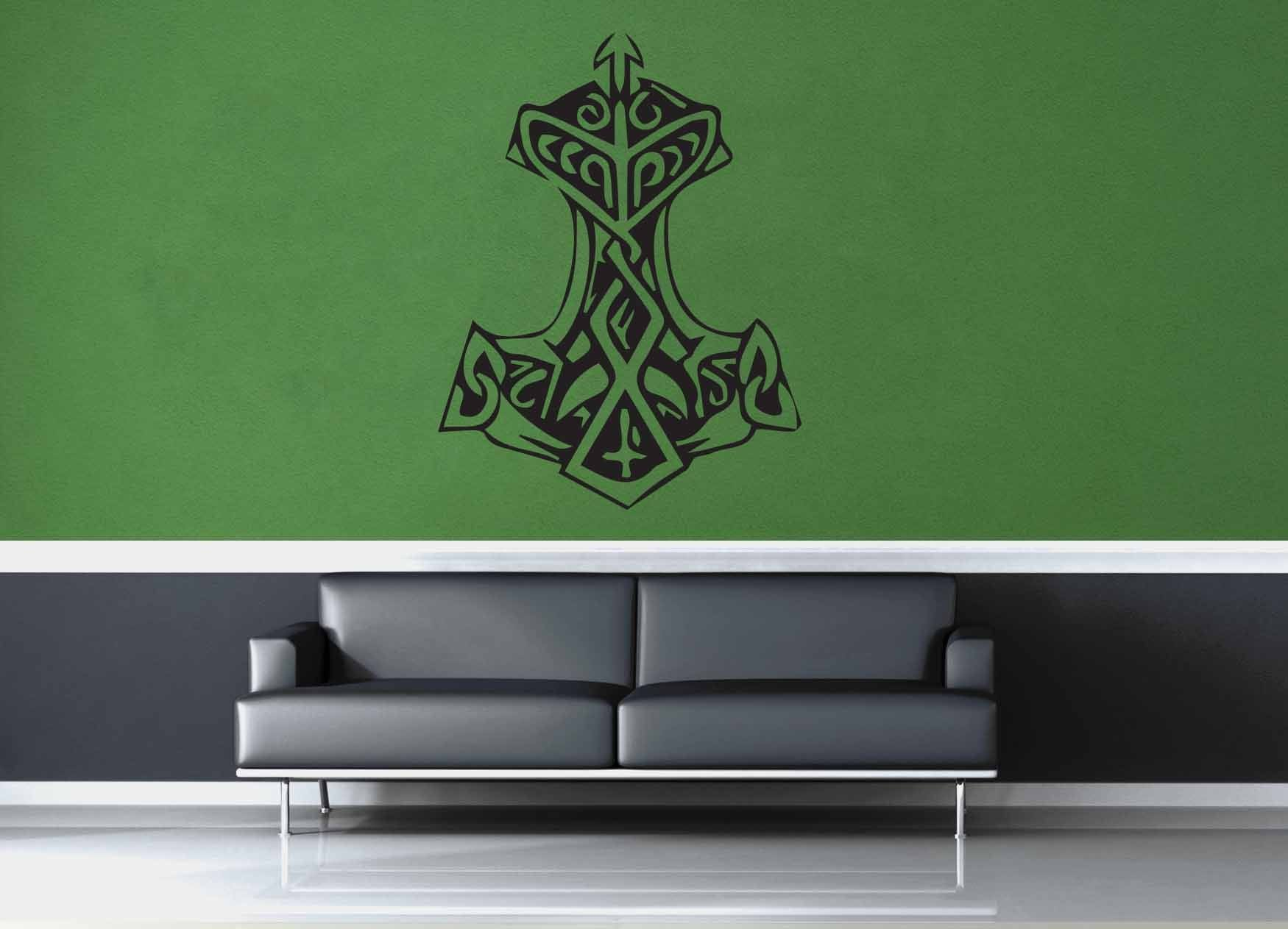Thor's Hammer - Wall Decal - No 1