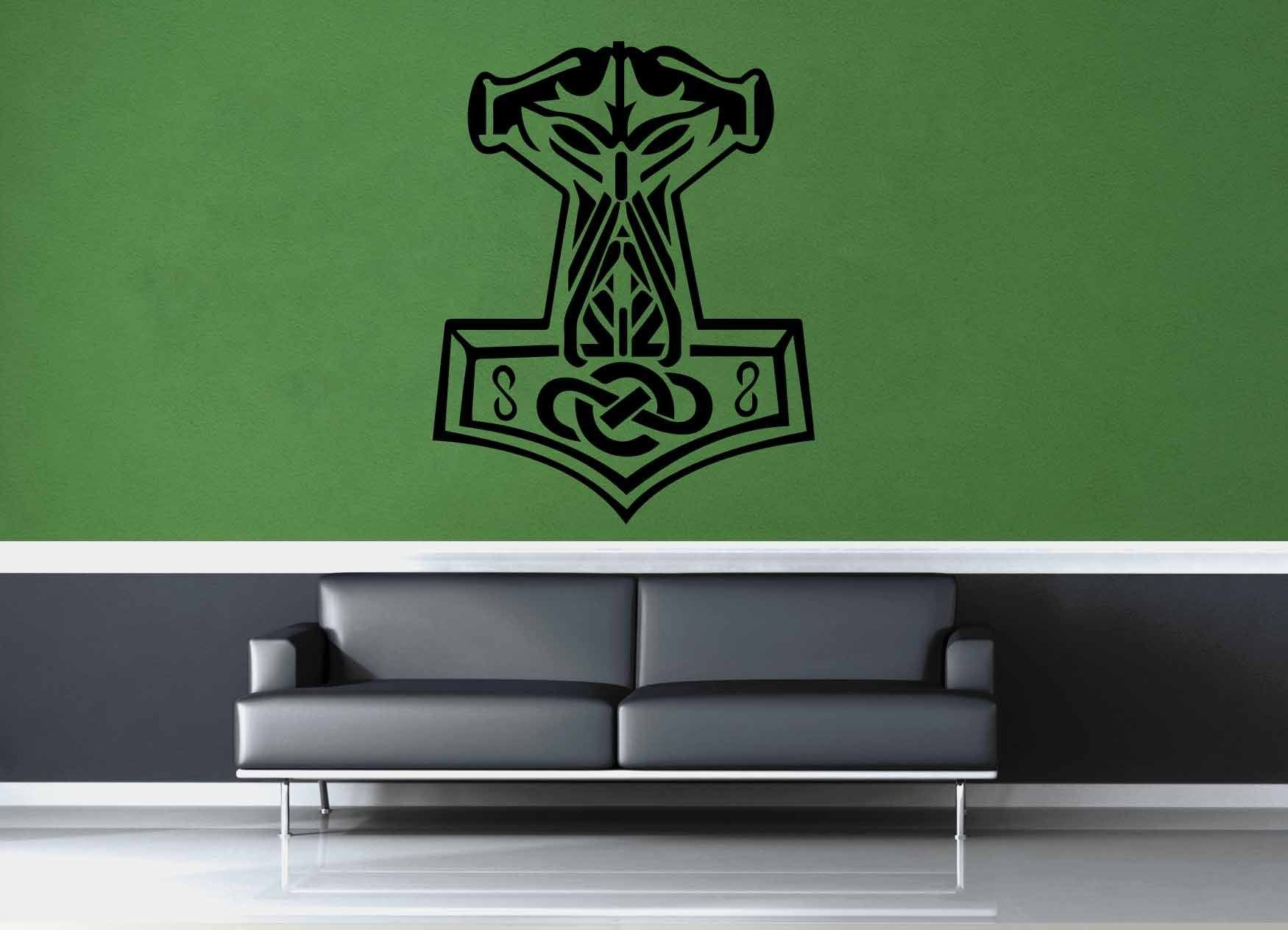 Thor's Hammer - Wall Decal - No 3
