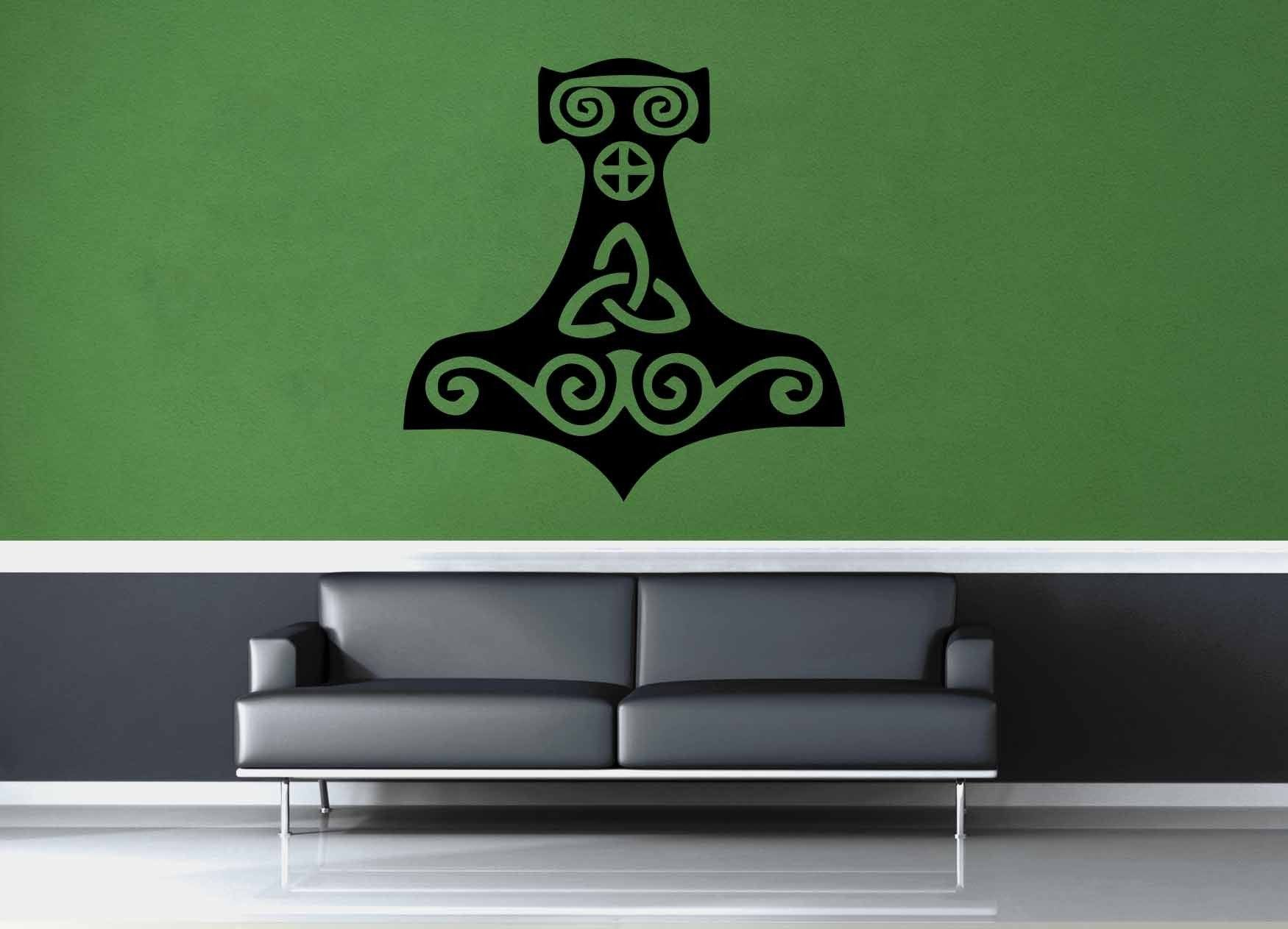 Thor's Hammer - Wall Decal - No 4