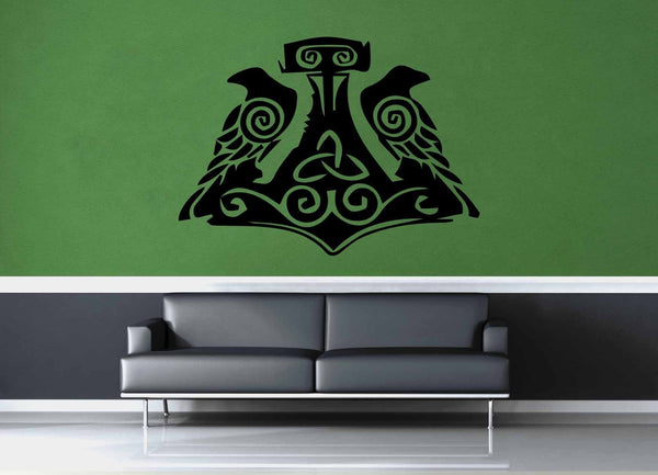Thor's Hammer - Wall Decal - No 2