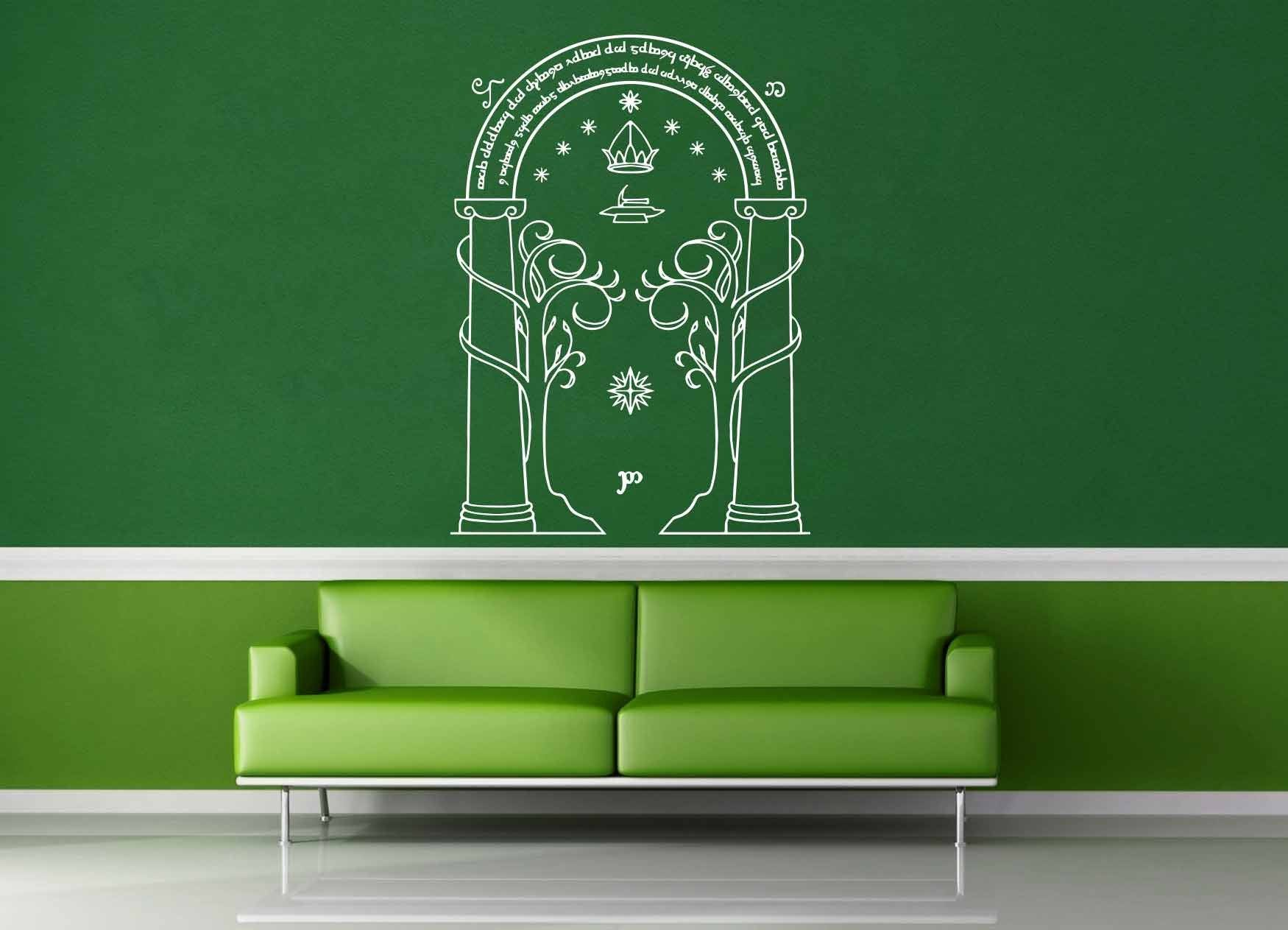Door Of Dorrin   Tolkien   Wall Decal