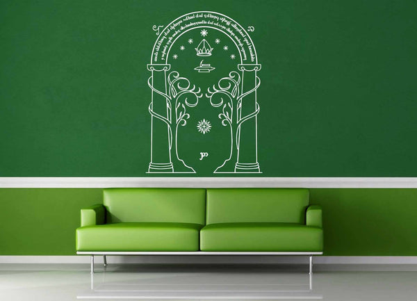 Door of Dorrin - Tolkien - Wall Decal - geekerymade