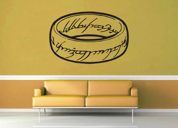 The One Ring - Tolkien - Wall Decal