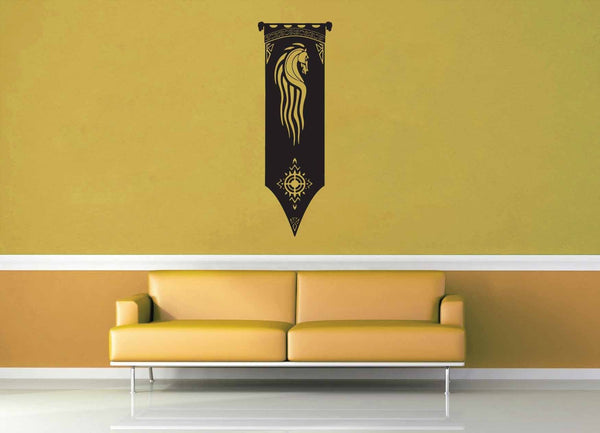 Rohirrm Flag - Tolkien - Wall Decal