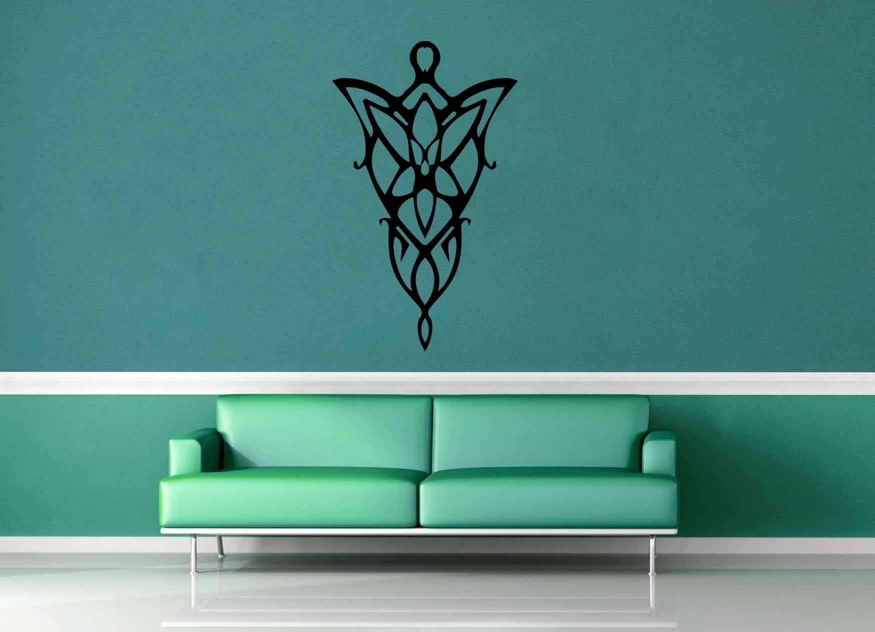Elven Necklace - Tolkien - Wall Decal