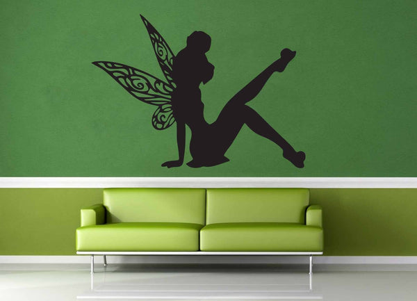 Tinkerbell Silhouette - Wall Decal - No 3