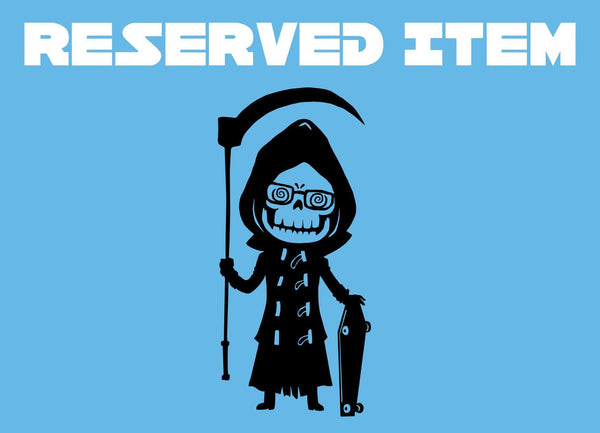 Reserved Item - Crowsmack - Uncle Death - geekerymade