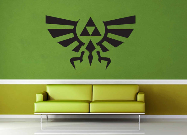 Hyrule Crest - Legend of Zelda - Wall Decal - geekerymade