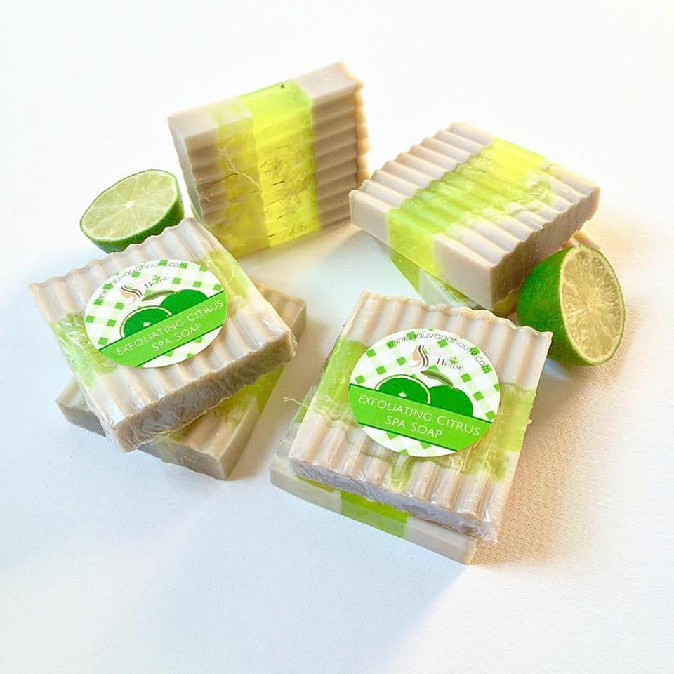 Exfoliating Citrus Spa Soap