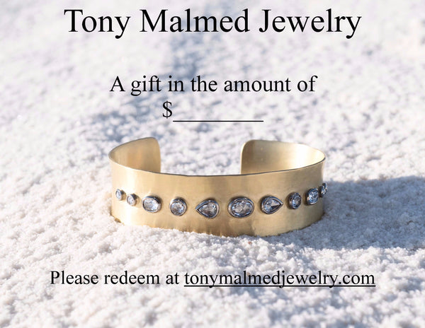 Tony Malmed Jewelry Gift Card