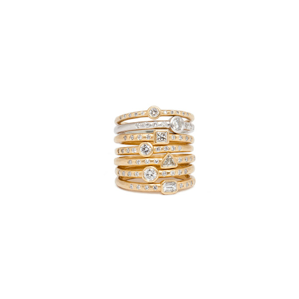 Amalfi Stack Rings