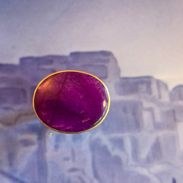 Sugilite: The Rare Purple Stone Ring