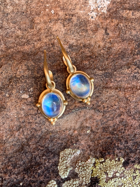 The Moonstone Earrings