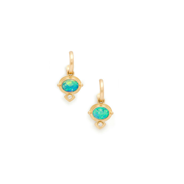 Narnia Opal Earrings
