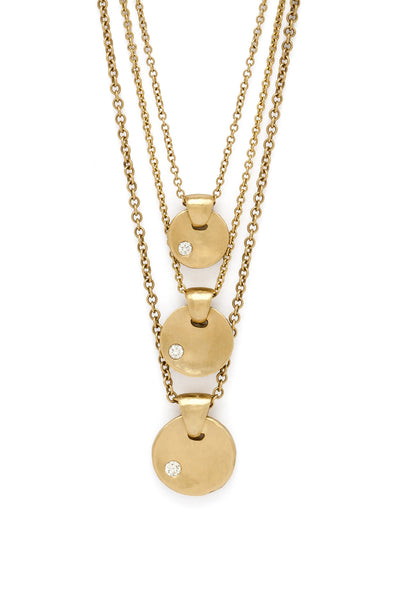 Little Zen Gold Necklaces (3 sizes)