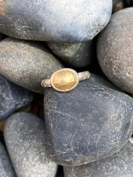 The Gold Cabochon Atelier Ring