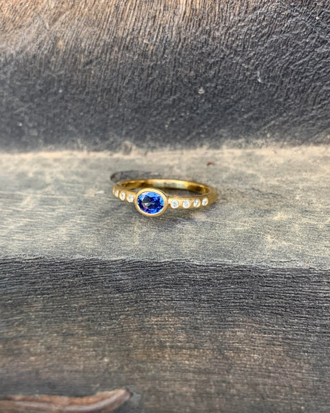 The Gorgeous Sapphire Ring