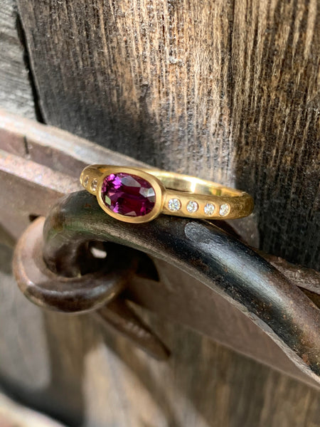The Old Stash Purple Sapphire Ring