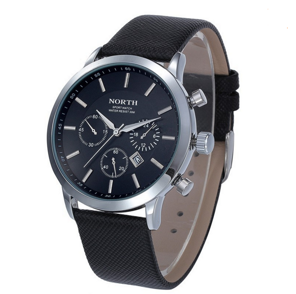 Brand Leather Strap Wristwatch Casual Watch
