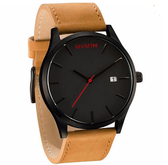 Luxury Brand Leather Watch