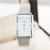 Silver Rhinestone Luxury Rectangle Watches