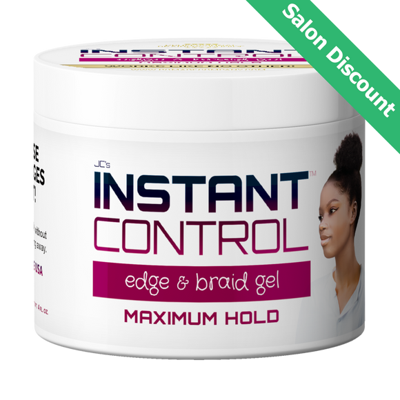 Salon and Bulk Discount - 4 oz. Instant Control Edge & Braid Gel