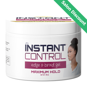 Salon and Bulk Discount - 8 oz. Instant Control Edge & Braid Gel
