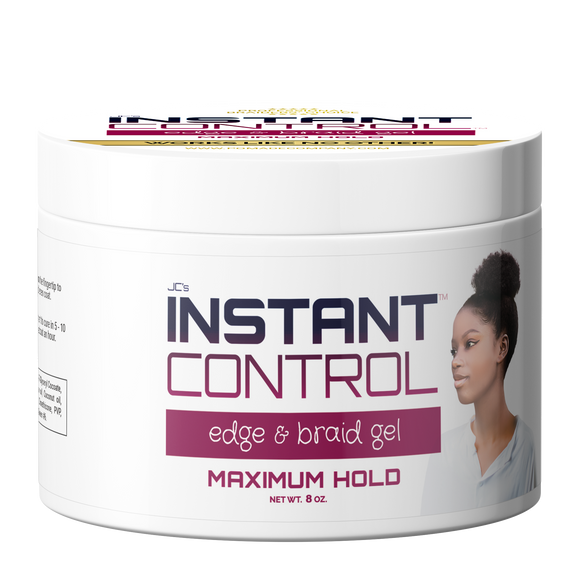 Instant Control Edge & Braid Gel - 8 oz