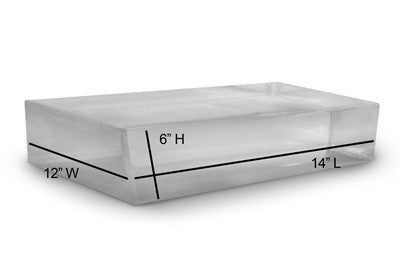 Clear Ballistics 10% Bow Block (14x12x6)