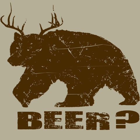 Bear + Deer = BEER?