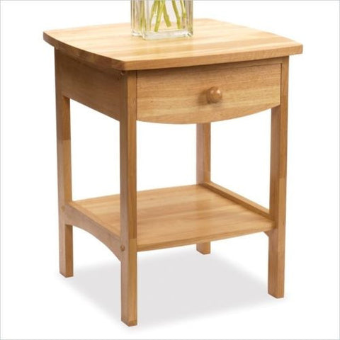 curved nightstand end table wood coffee tables side room living room home decor bca living room furniture