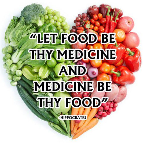 Let Food be they medicine