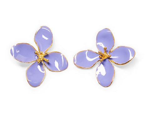 Lilac Blossom Earrings