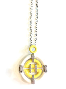 Amulet of the Oriental Sun Necklace