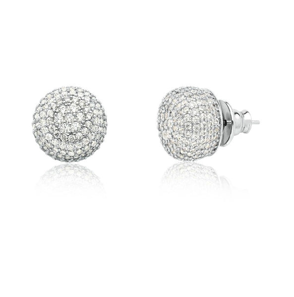 Pave Studs earrings