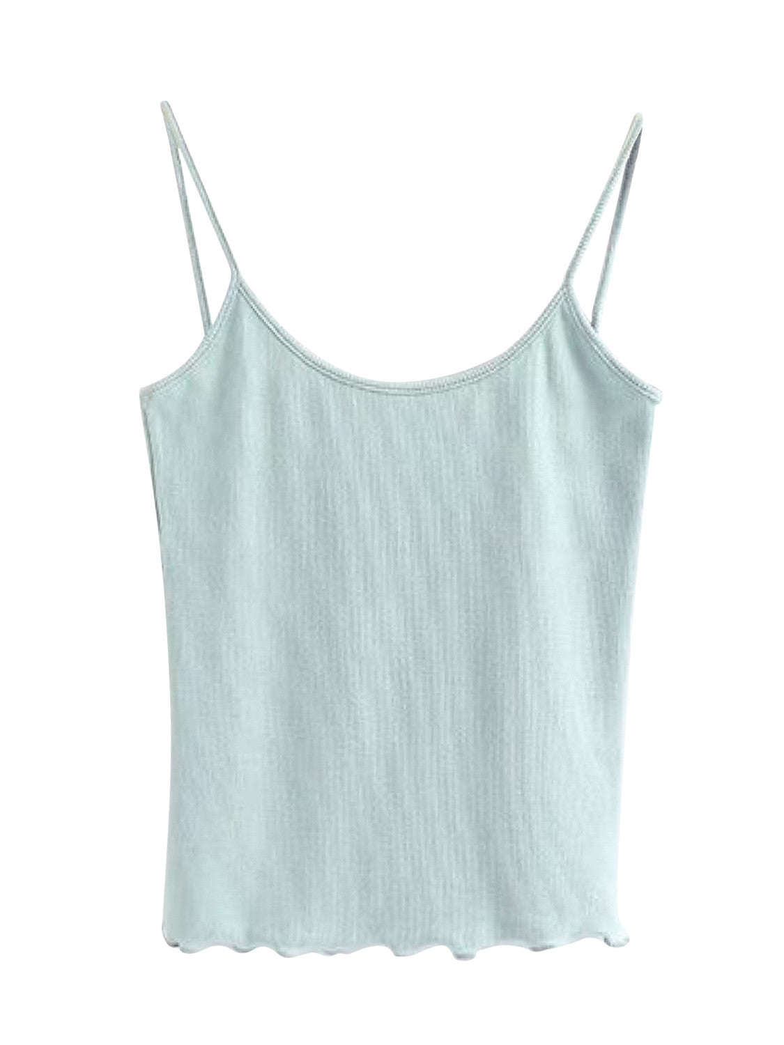 White Backless Cami Vest Top