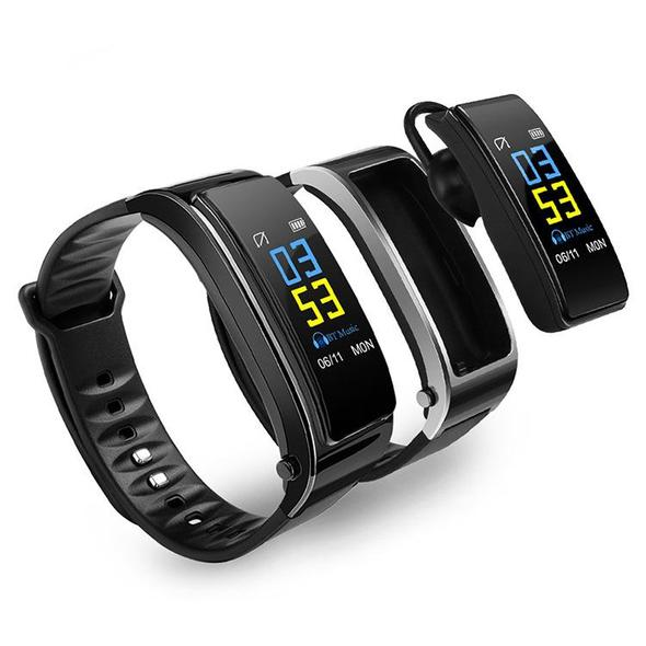 【Buy 2 Get Free Shipping&Save Extra 22%!!】2 in 1 Smart Bracelet with Bluetooth Earphone