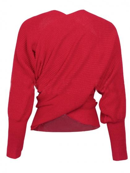 Red Cross Multi-way Knit Sweater