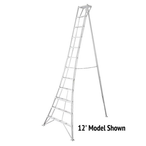 12' Original Tripod Garden Ladder (15' Image Not Available)