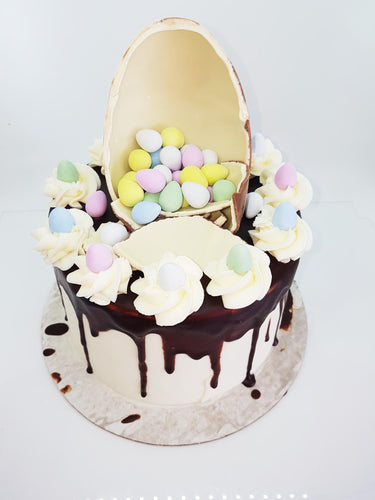 Easter Cracked Egg Cake